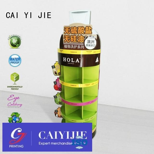 stores space product CAI YI JIE Brand cardboard stand supplier