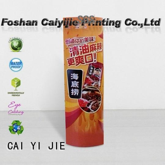 CAI YI JIE lama display stand durable for advertizing