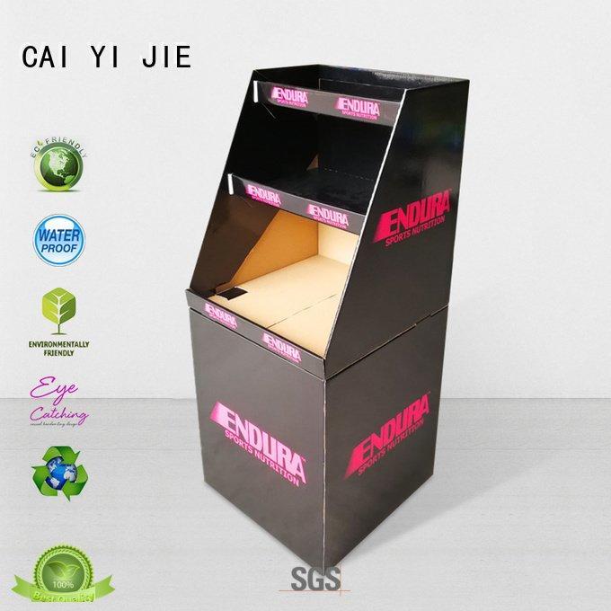 CAI YI JIE Brand displays printing commodities dumpbin