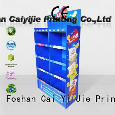 CAI YI JIE cardboard pop displays osram for electronic lights for grids