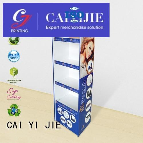 sale chain stand cardboard stand CAI YI JIE Brand company