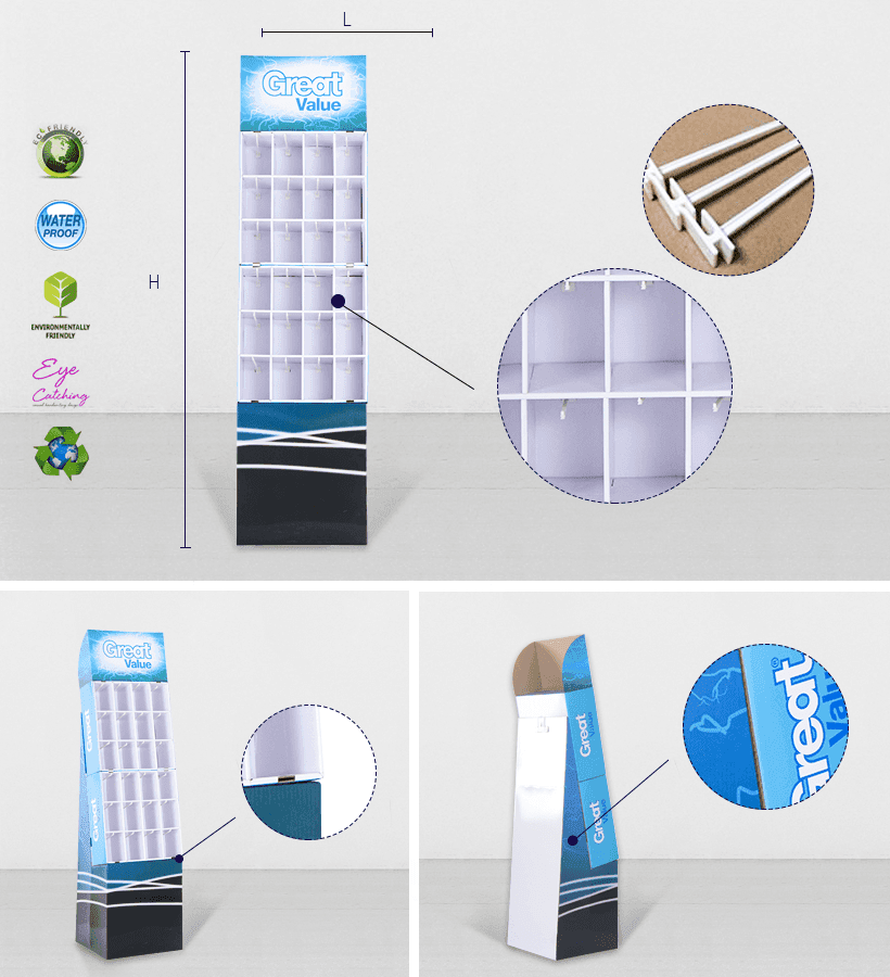 CAI YI JIE cheap product display stands factory for supermarket-2