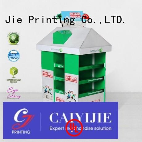 product mobile CAI YI JIE Brand cardboard pallet display factory