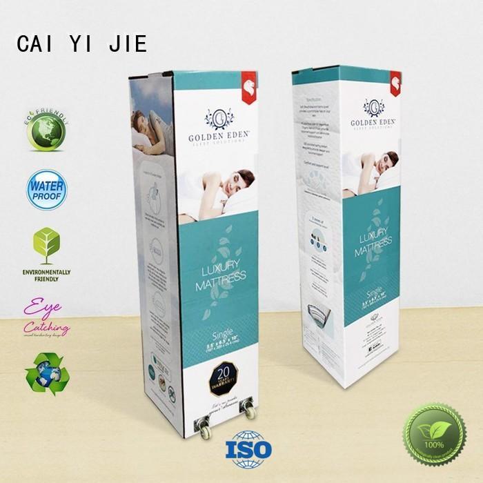 CAI YI JIE fancy custom packaging boxes for milk display