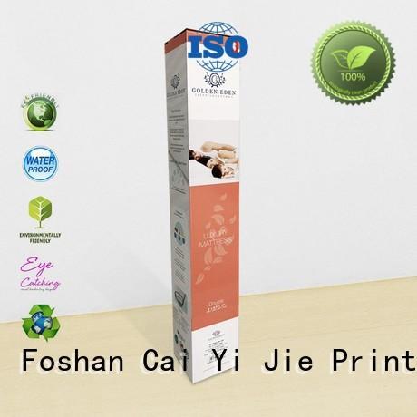 ODM counter display box OEM for milk display CAI YI JIE