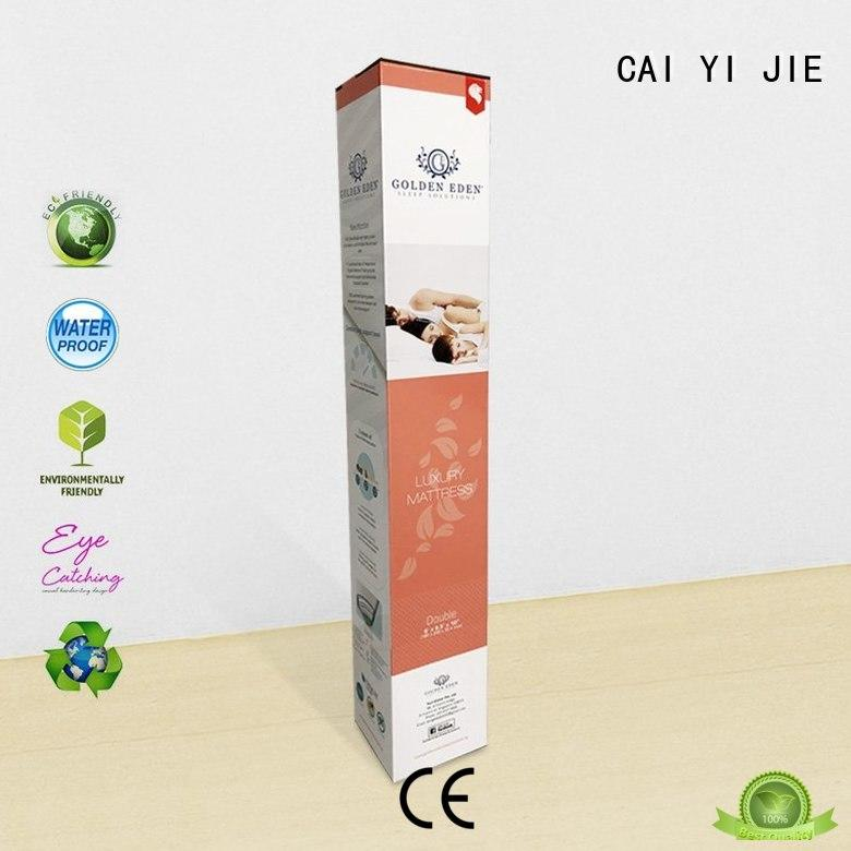 CAI YI JIE factory price counter display box for retail