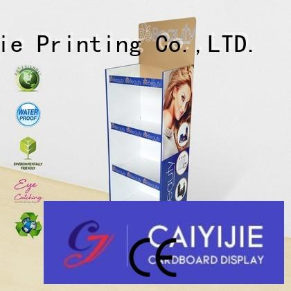 CAI YI JIE stand floor display point