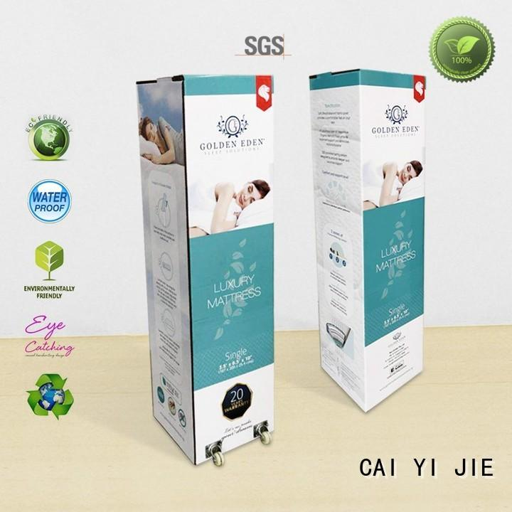 luxury corrugated cardboard boxes paper for yogurt display
