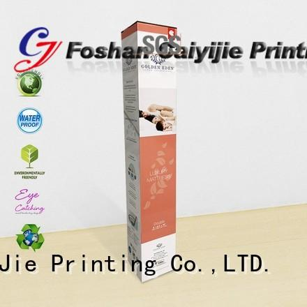 counter display sleeves for cup display CAI YI JIE