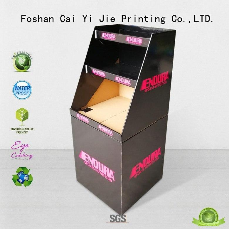 latest cardboard parts bins printing corrugated display for retail product